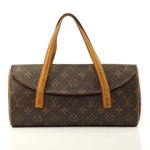 Auth Louis Vuitton Sonatine Brown #2732L21